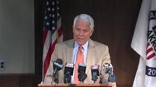 Akron Mayor Don Plusquellic delivers final press conference
