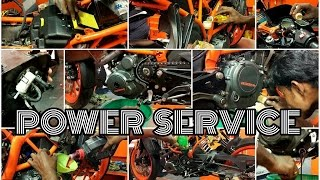 4TH SERVICE@2400-//FUEL FILTER/ENGINE OIL/OIL FILTER/AIR FILTER/BRAKE OIL/STRAINER/CHAIN CLEAN