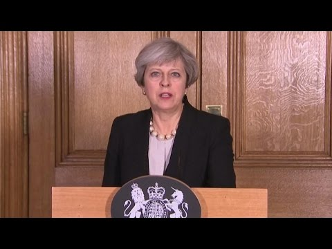 British prime minister announces UK terror threat level raised to critical