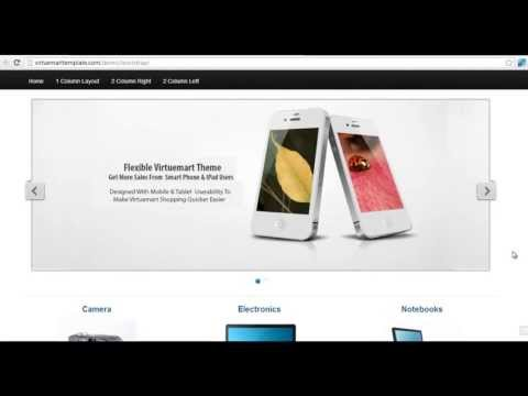 How To Install Virtuemart Responsive Bootstrap Template For Joomla 2.3 & 3