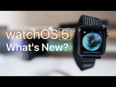WatchOS 5 Is Out - What's New?