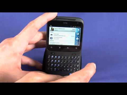 HTC Status, AKA HTC ChaCha video review