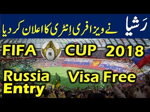 Visa Free Entry to Russia for FIFA World...