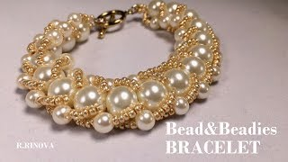 Браслет из бисера и бусин |  Bead&Beadies BRACELET