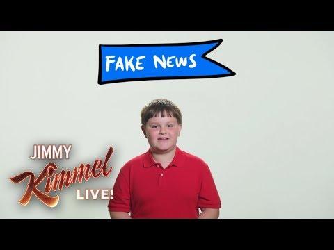 3rd Grader Explains Fake  to Donald Trump