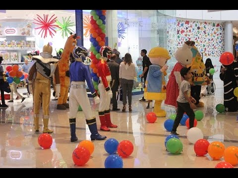 Toys R Us Doha Festival City Grand Opening Day Youtube
