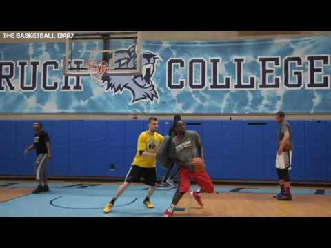 Jameel Warney Stony Brook University NBA Pre Draft Workout (Dallas Mavericks Invite)