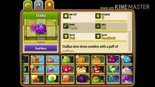 All Plants in Plants Vs Zombies 2
