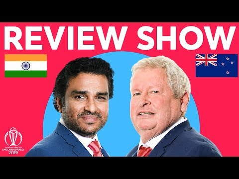 The Review LIVE – India v New Zealand | ICC Cricket World Cup 2019