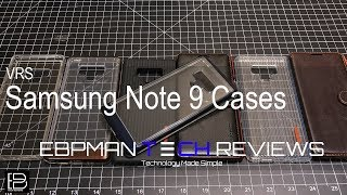 Samsung Galaxy Note 9 Cases from VRS Design