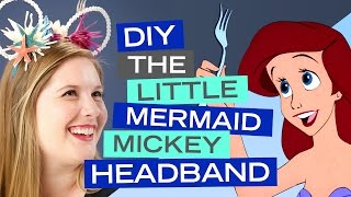 Ariel Little Mermaid Diy Costume No Sew And Around 20 Vloggest