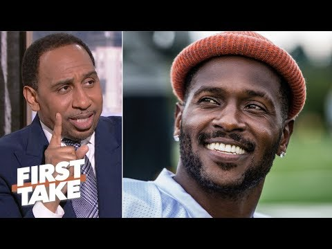 Antonio Brown's antics would get most players kicked out of the NFL - Stephen A. | First Take