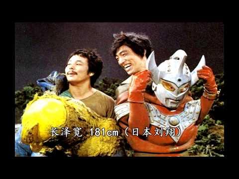 Behind the scenes ULTRAMAN Suit Actors'height in the Showa era