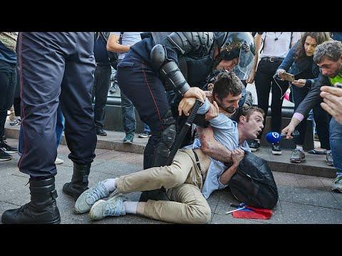Митинги и задержания