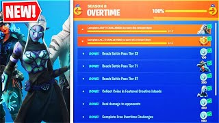 Fortnite Battle Royale Overtime Challenges and Sadly No Free Battle Pass