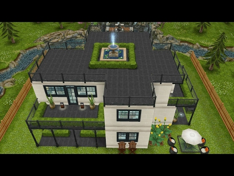 Sims freeplay homestead river house 1 original house design - Sims freeplay designer home ...