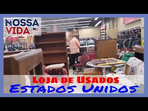 Loja de Usados nos Estados Unidos - Móveis Roupas e Muito Mais - Savers - Nossa Vida USA