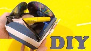 Do Lixo ao Luxo: Caixa Feita com CD Usado – DIY Artesanato