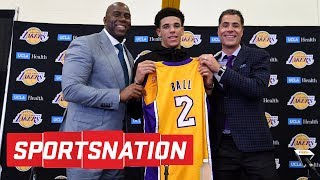 Are The Lakers Putting Too Much Pressure On Lonzo Ball? | SportsNation | ESPN