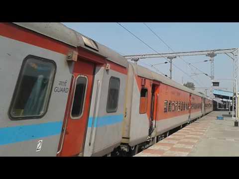 Gaya - Chennai Egmore express in LHB avatar