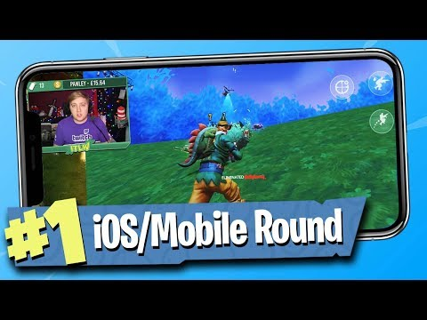 Fortnite Battle Royale - iOS / Mobile Gameplay!