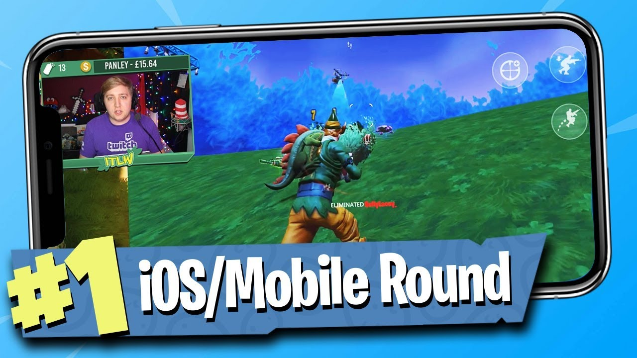 Fortnite Battle Royale Ios Mobile Gameplay Youtube In this mnogopolzovatelskie the game your main task is to survive in the huge world and to be the sole. fortnite battle royale ios mobile gameplay