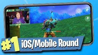 Fortnite Battle Royale - iOS / Mobile Gameplay!