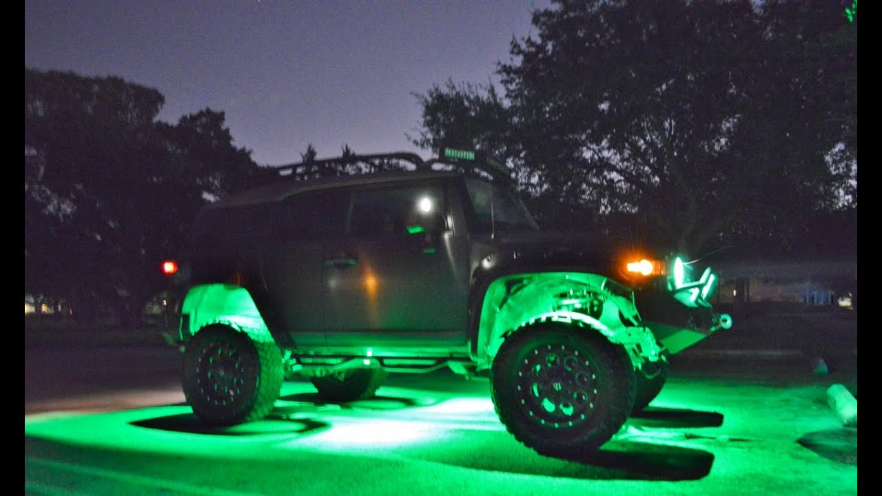 2007 Fj Cruiser 4x4 Customized Lifted And Lighted