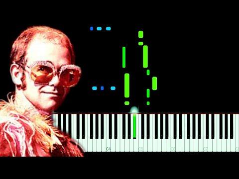 Elton John - Sorry Seems To Be The Hardest Word Piano Tutorial
