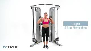 TRUE Workout Series - Functional Trainer Lower Body Workout