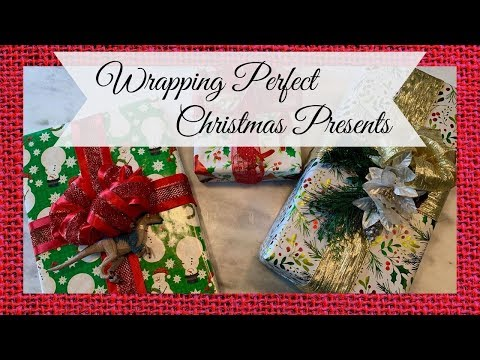 The Great Gift Wrap Challenge 2019 ~ Wrapping the Perfect Christmas Presents 🎀🎁