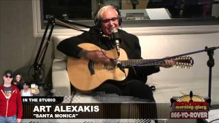 "Art Alexakis performs ""Santa Monica"" in studio"