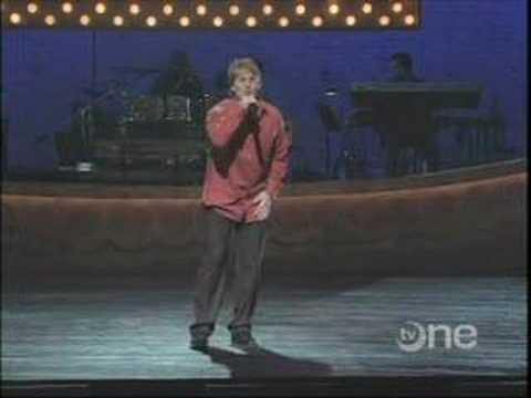 Corey Cross - Showtime at the Apollo performs Peabo Bryson