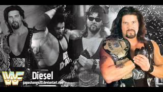 WWF Kevin Nash ( Diesel ) Theme song Diesel Blues (V1)+ CD Quality