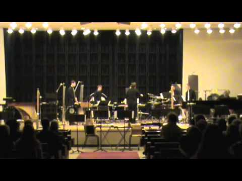 First Construction (in metal) performed by Iowa Percussion