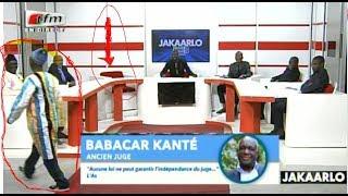 Jakaarlo: Fou Malade en retard, il débarque à la fin de l'émission