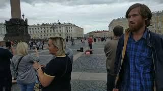 Уличные музыканты Санкт Петербург