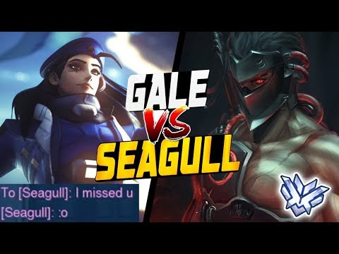 """""""I missed u"""" - GALE ANA vs SEAGULL - Best Game Ever! [ OVERWATCH SEASON 12 TOP 500 ] thumbnail"""