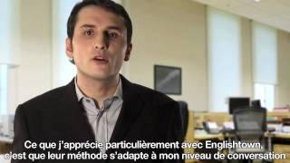 Apprendre l'anglais en ligne - étudiant Juan López