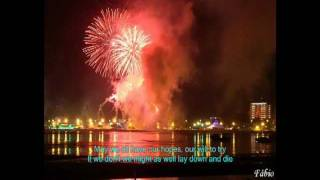 Happy New Year ABBA - Lyrics - with beautiful scenes in the world