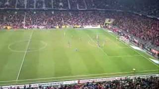 My FC Bayern Experience, FC Bayern München vs TSG Hoffenheim, Allianz Arena 2008-12-05