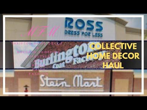 Ross, Burlington, Stein Mart  Collective Home Decor Haul 2019 | Spring/Summer