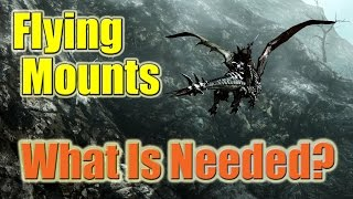 FFXIV Heavensward Flying Mounts - Everything You Need to Know