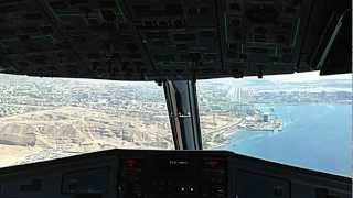 Landing at Eilat Airport