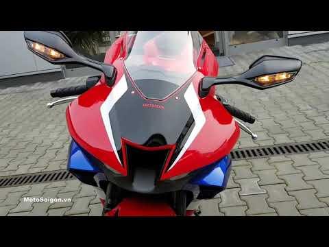 Honda CBR1000RR-R 2020 đánh giá ngoại hình test âm thanh pô Akrapovic