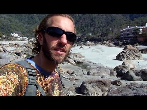 Exploring the Ganges River in Rishikesh, India