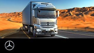 Mercedes-Benz Actros and Arocs: Middle East and Africa Challenge