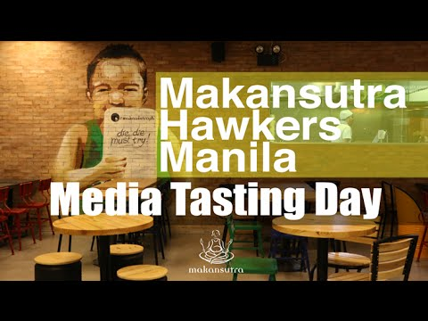 The Media Tastes Makansutra Hawkers Manila