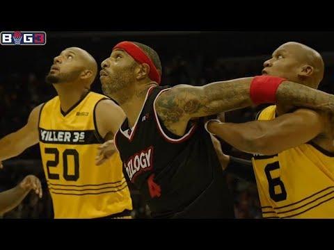 BIG 3 / Week 8 / Trilogy vs Killer 3's Full Game Highlights (Very HOT!) BIG3 Basketball BIG3 League