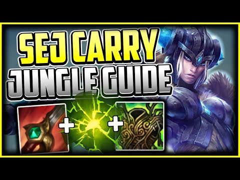 HOW TO PLAY SEJUANI JUNGLE + BEST BUILD/RUNES - Sejuani Commentary Guide - League of Legends